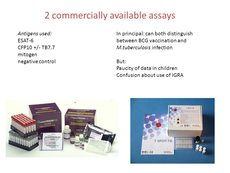2 commercially available assays