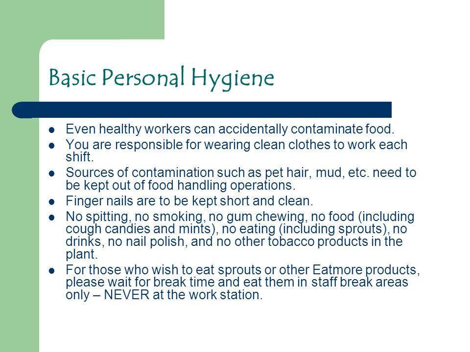 Basic Personal Hygiene