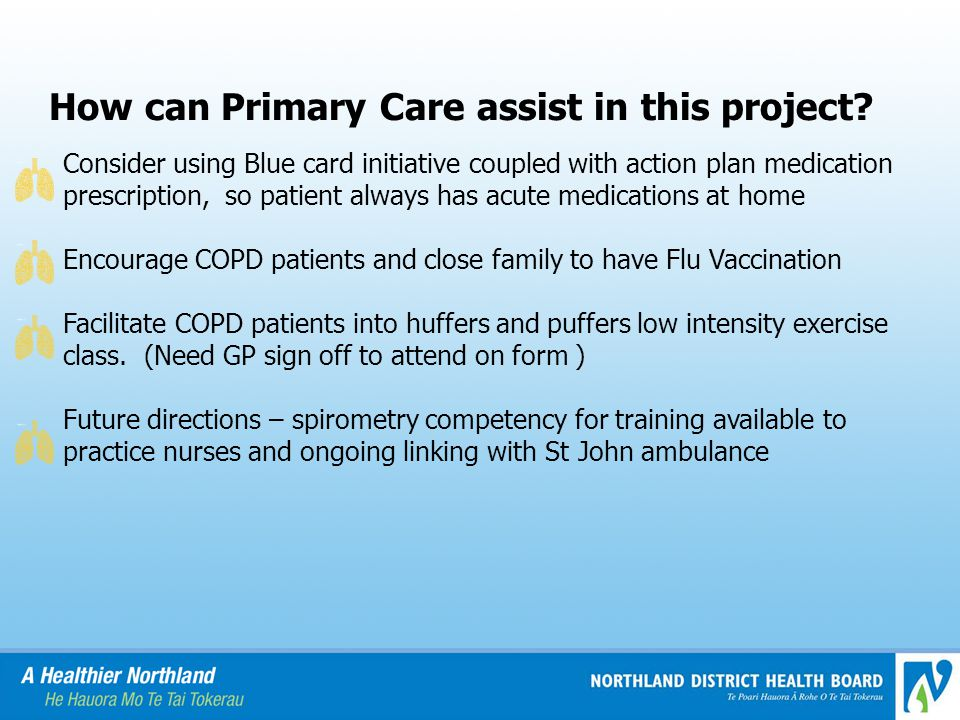 How can Primary Care assist in this project