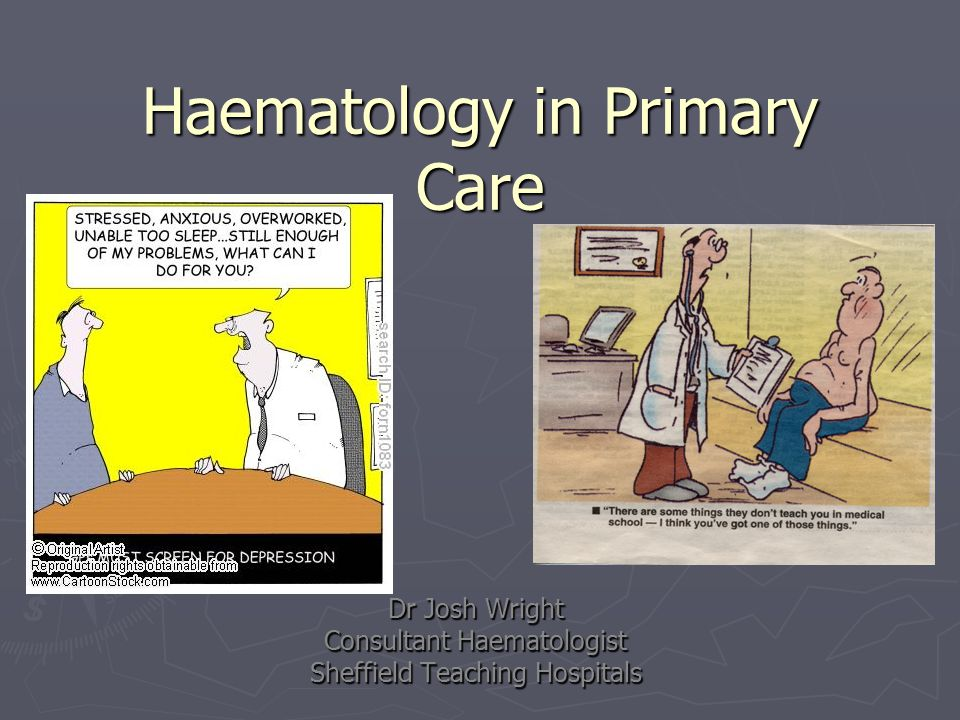 Haematology in Primary Care