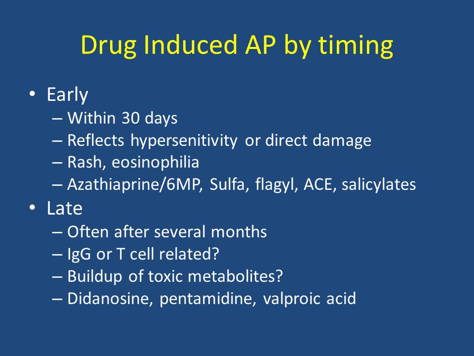 Drug Induced AP by timing