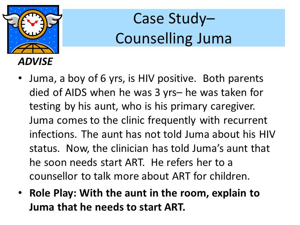 Case Study– Counselling Juma