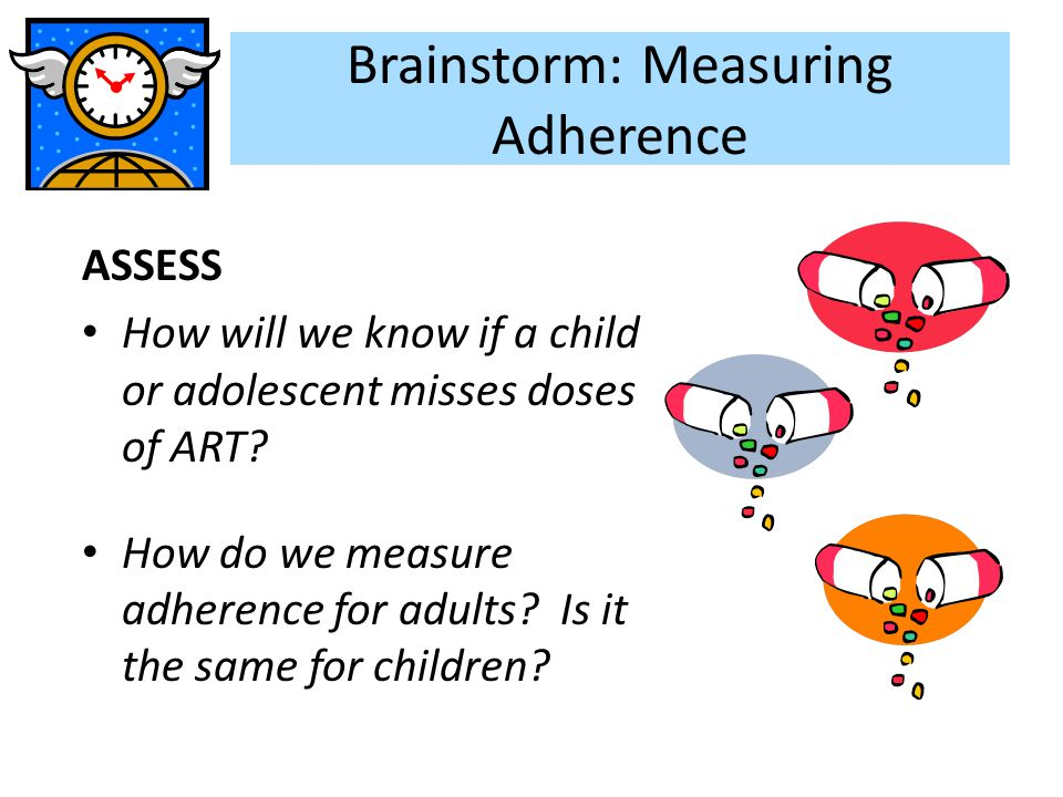 Brainstorm: Measuring Adherence