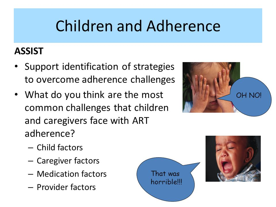 Children and Adherence