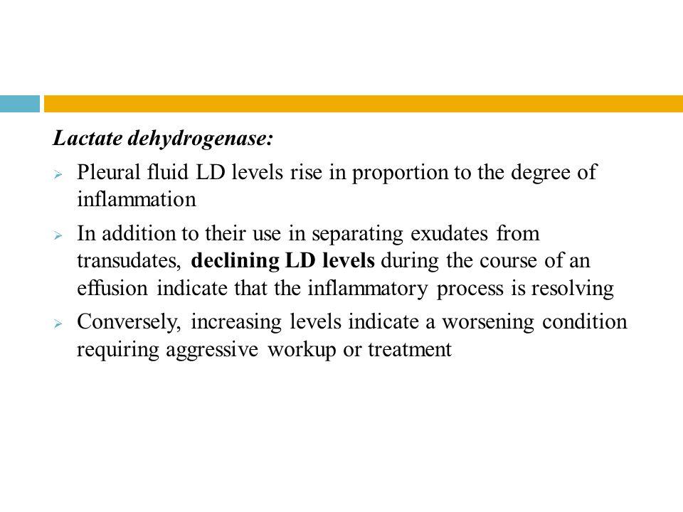 Lactate dehydrogenase: