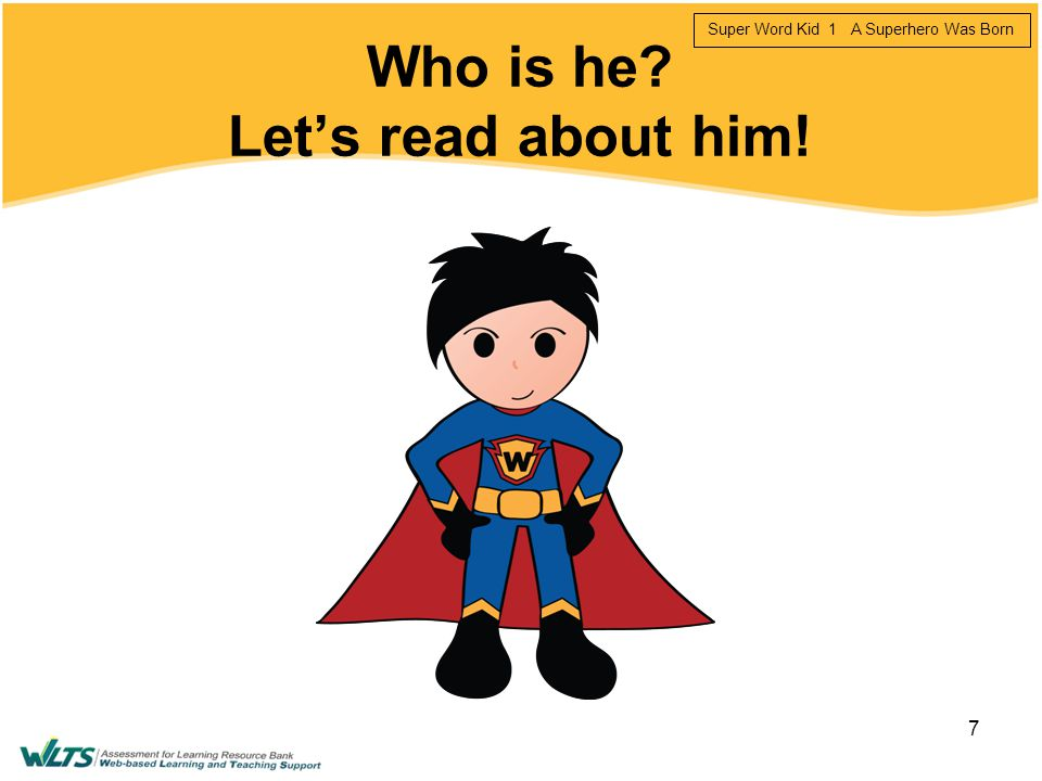 Who is he Let's read about him!