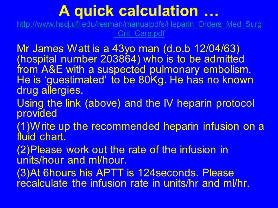 A quick calculation … http://www. hscj. ufl