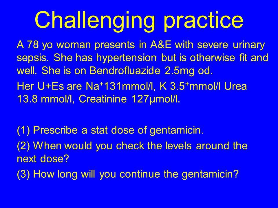 Challenging practice