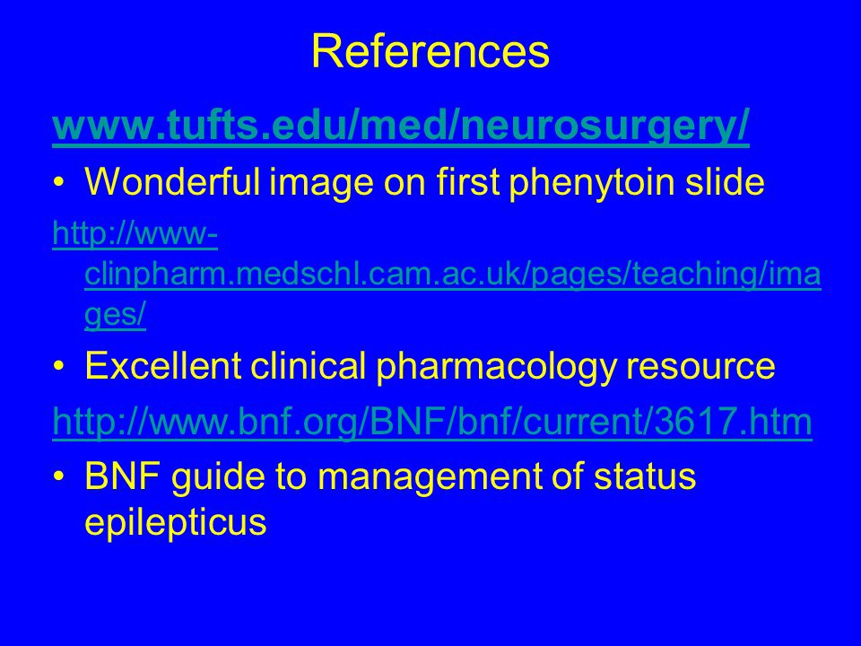 References www.tufts.edu/med/neurosurgery/