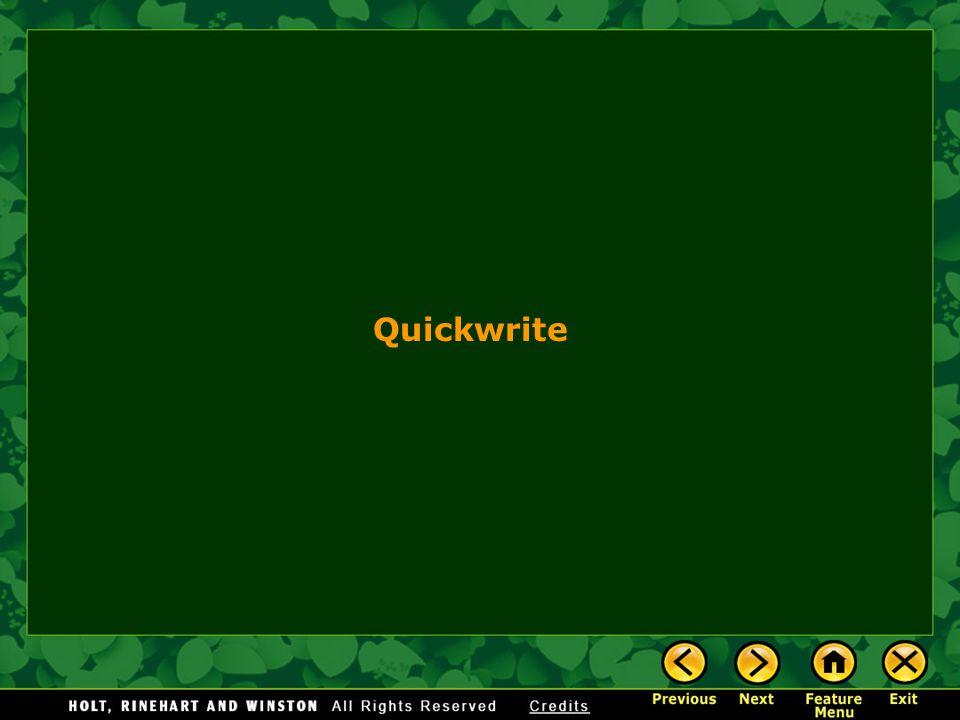 Quickwrite