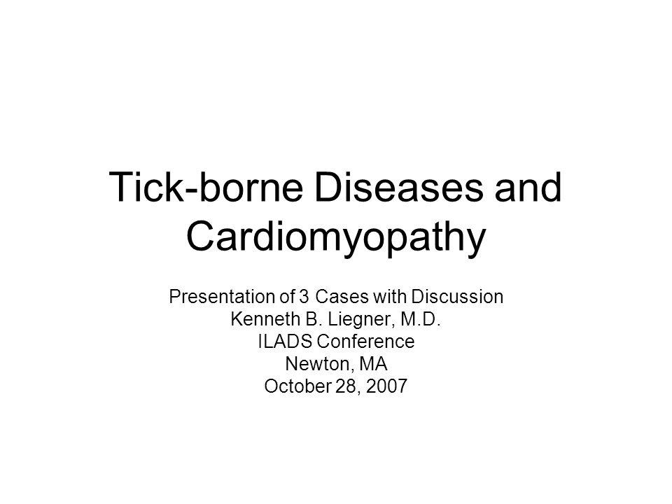 Tick-borne Diseases and Cardiomyopathy