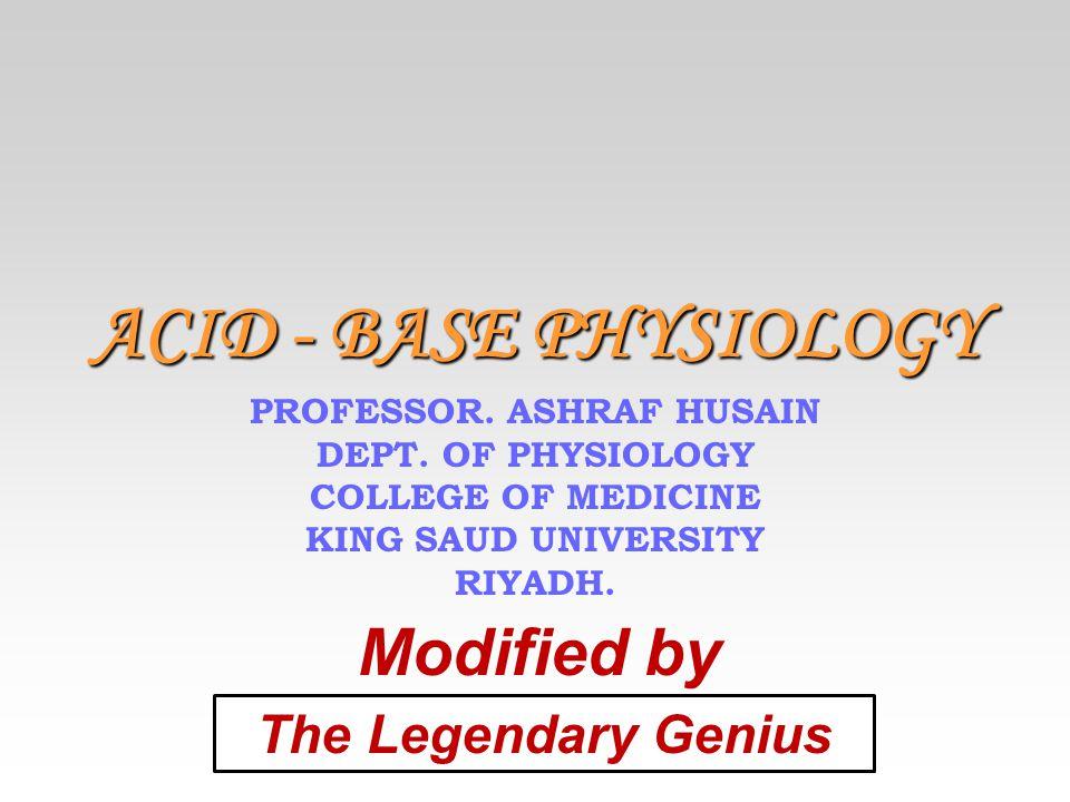 PROFESSOR. ASHRAF HUSAIN