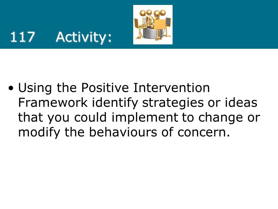 117 Activity: