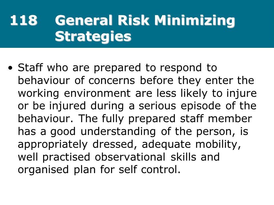 118 General Risk Minimizing Strategies