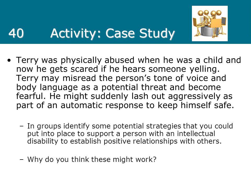 40 Activity: Case Study