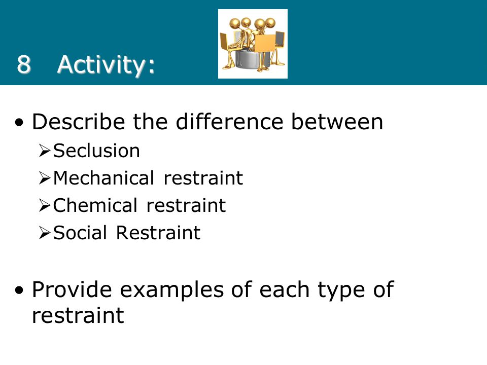 8 Activity: Describe the difference between
