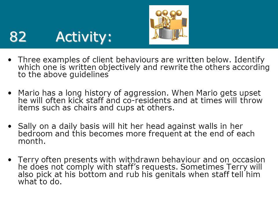 82 Activity: