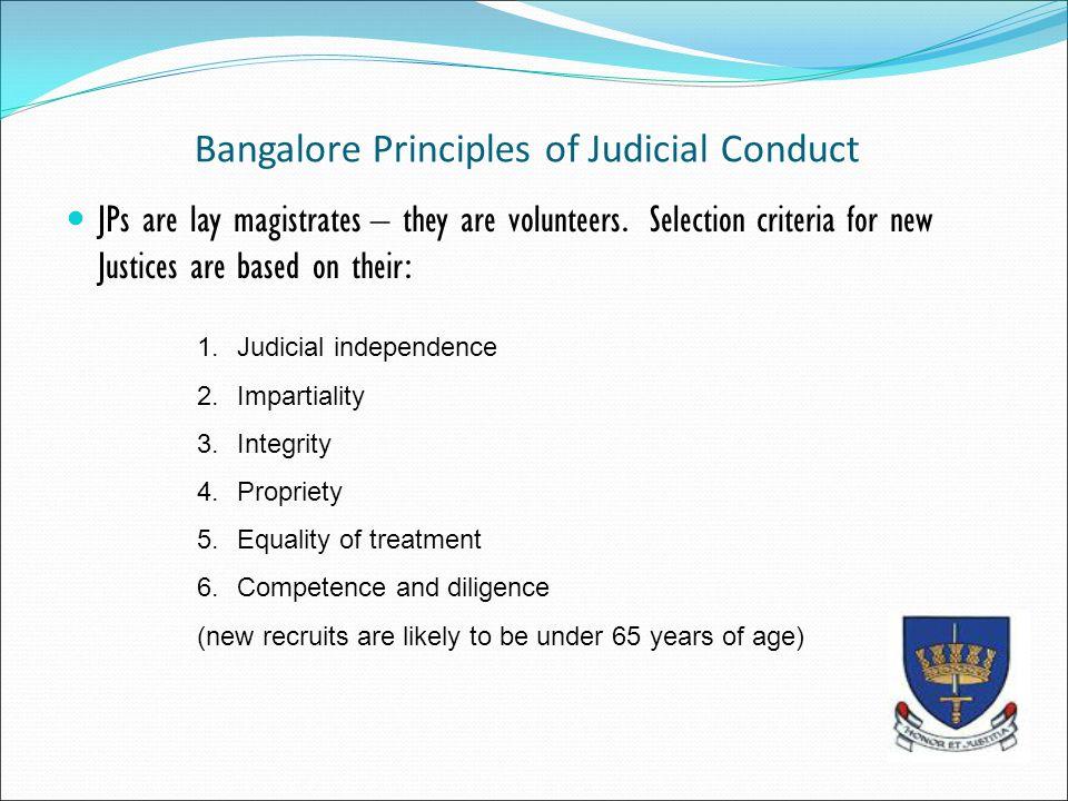 Bangalore Principles of Judicial Conduct