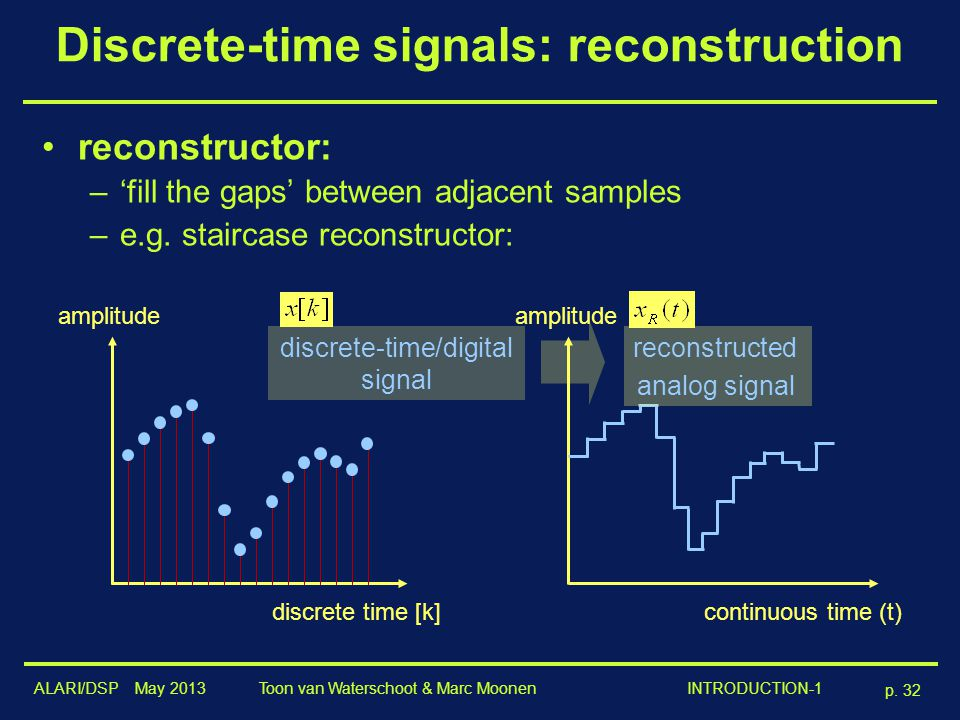 continuous and discrete time signals pdf