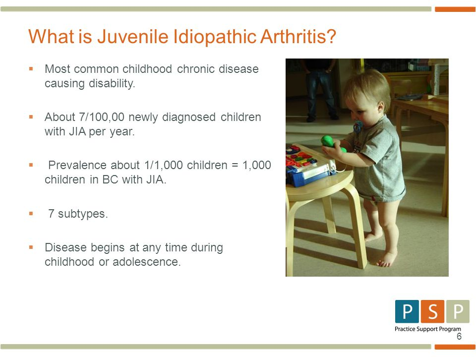 What is Juvenile Idiopathic Arthritis