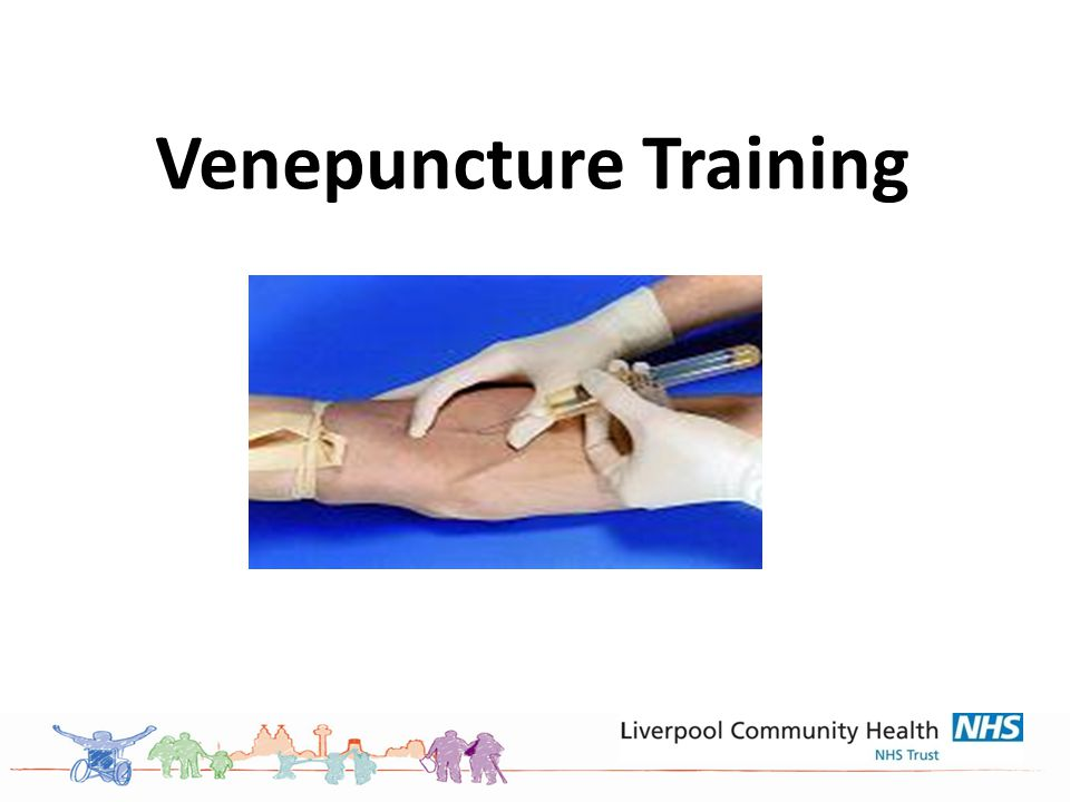 Venepuncture Training