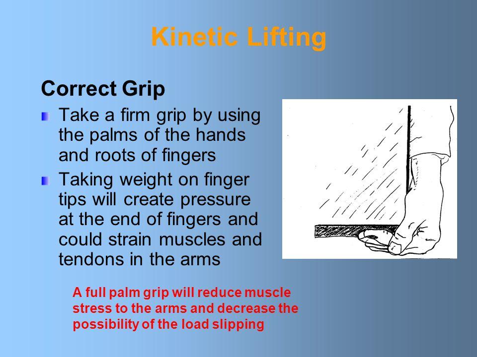 Kinetic Lifting Correct Grip