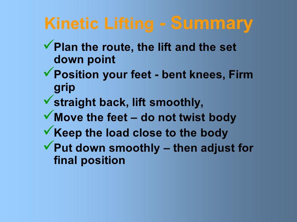 Kinetic Lifting - Summary