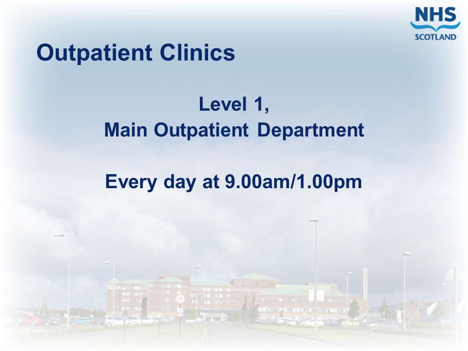 Main Outpatient Department