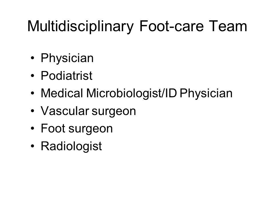 Multidisciplinary Foot-care Team