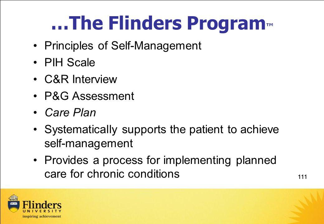 …The Flinders Program™