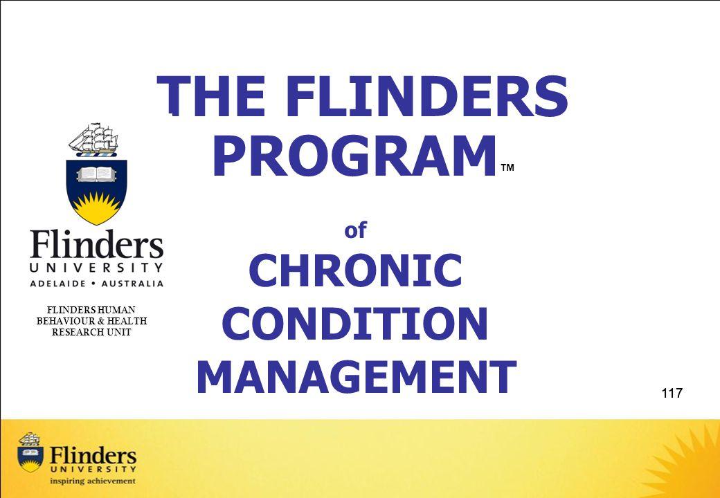 FLINDERS HUMAN BEHAVIOUR & HEALTH RESEARCH UNIT