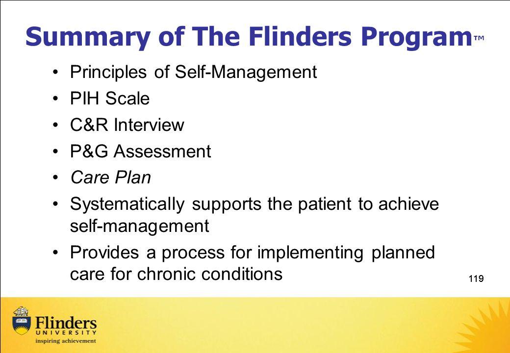 Summary of The Flinders Program™