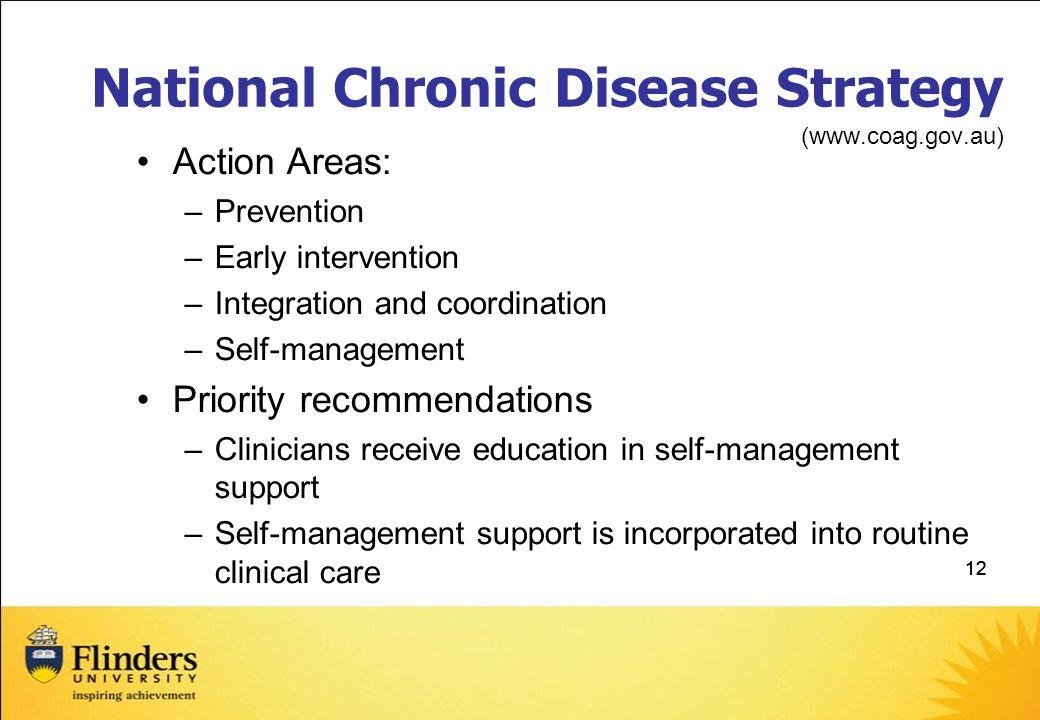 National Chronic Disease Strategy (www.coag.gov.au)