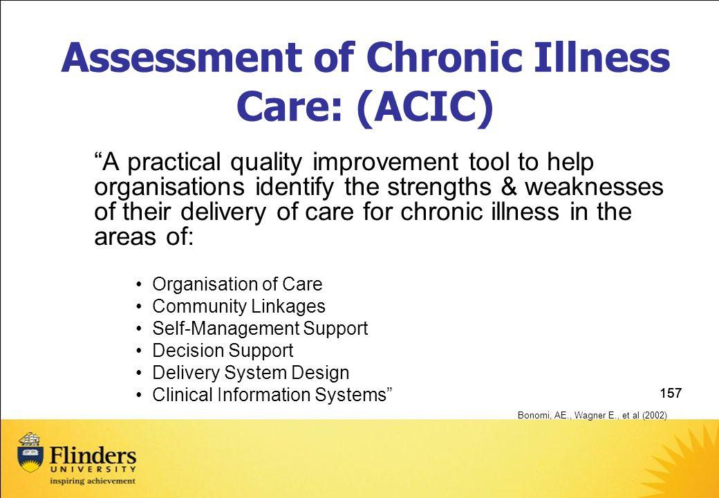 Assessment of Chronic Illness Care: (ACIC)