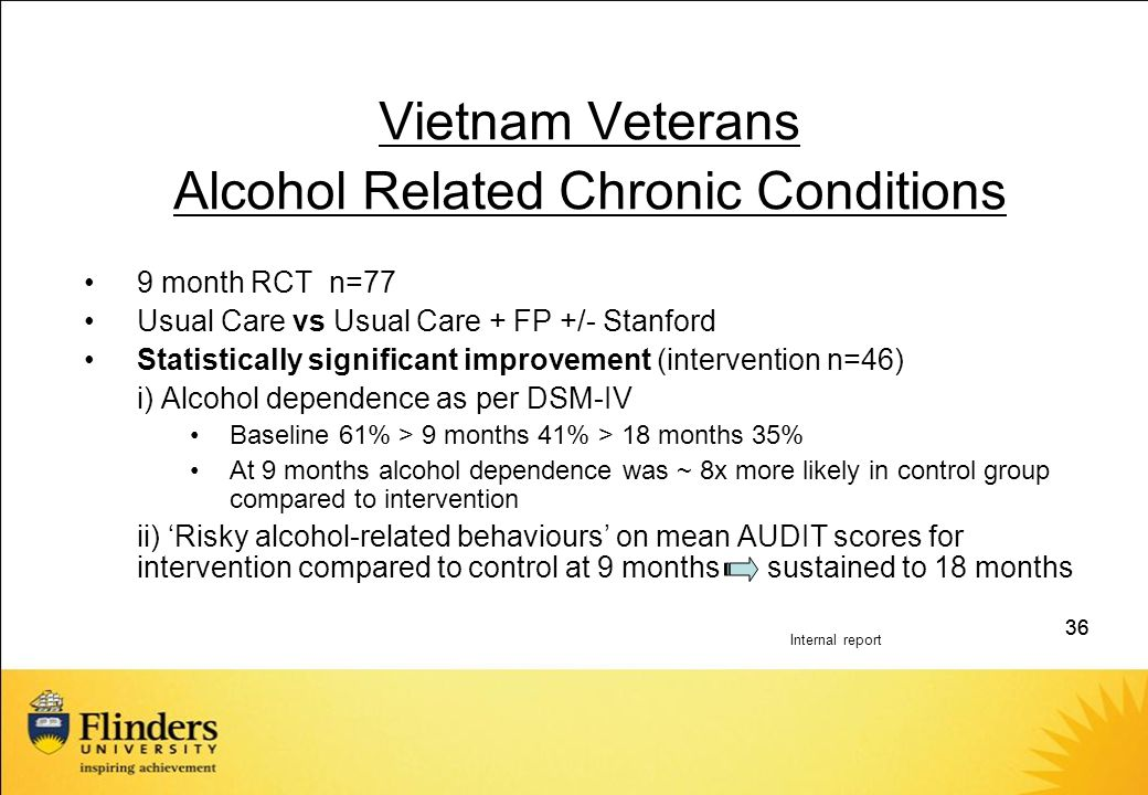 Alcohol Related Chronic Conditions