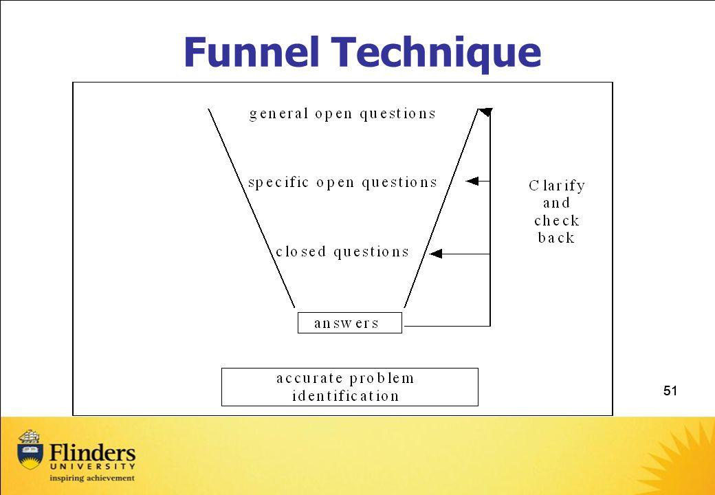 Funnel Technique 51 51 CCSM Education Training Manual Part 2