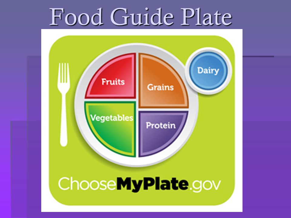 Food Guide Plate