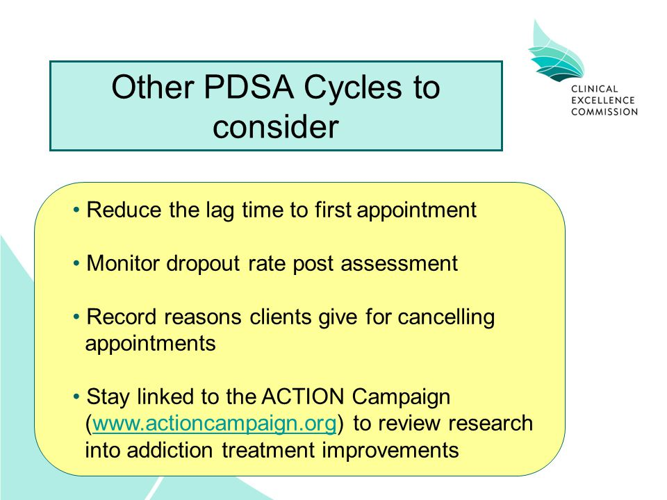Other PDSA Cycles to consider