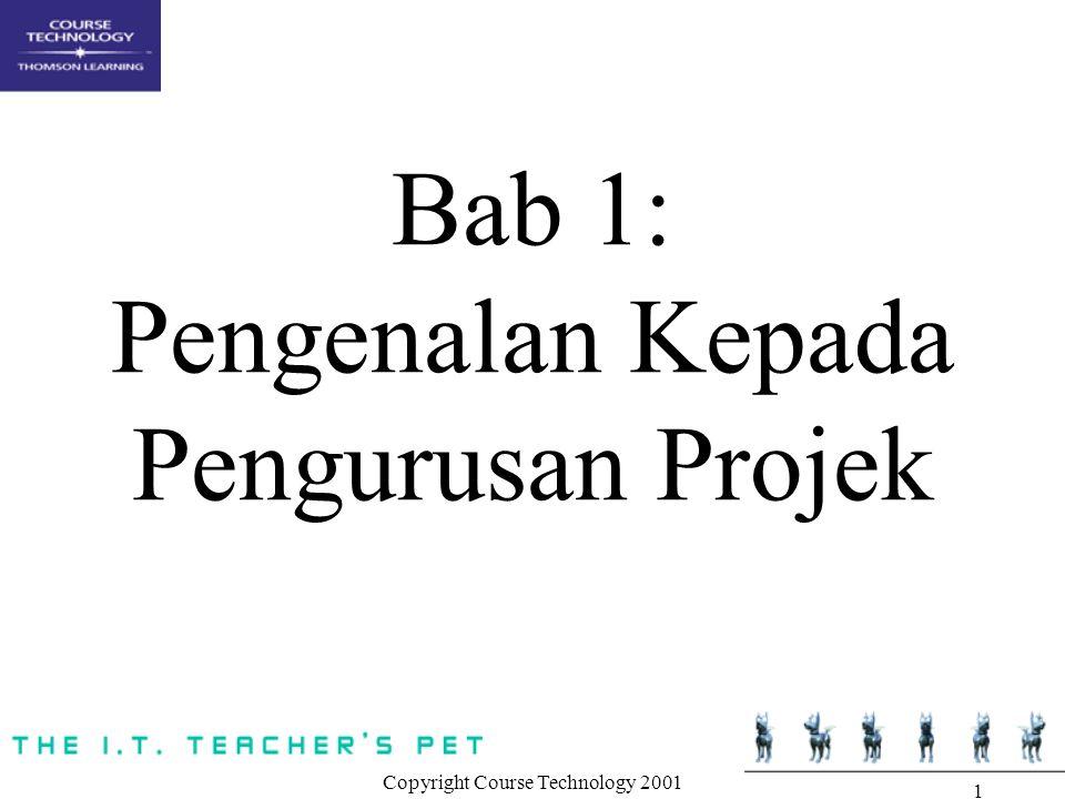 Bab 1: Pengenalan Kepada Pengurusan Projek