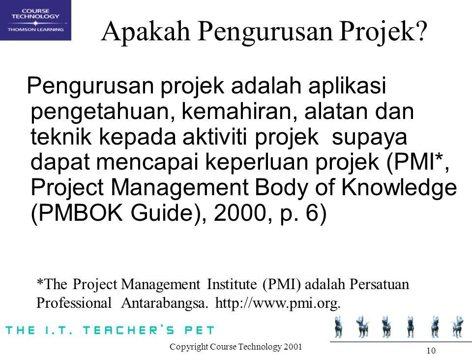 Apakah Pengurusan Projek