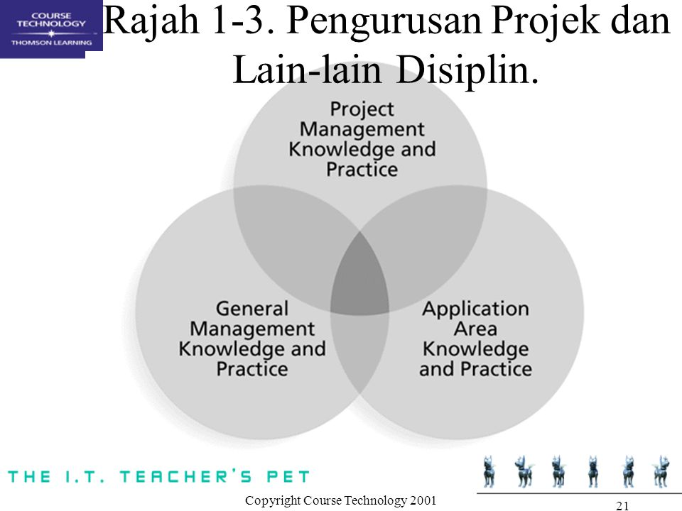 Rajah 1-3. Pengurusan Projek dan Lain-lain Disiplin.