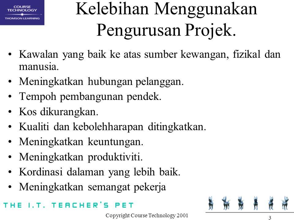 Kelebihan Menggunakan Pengurusan Projek.