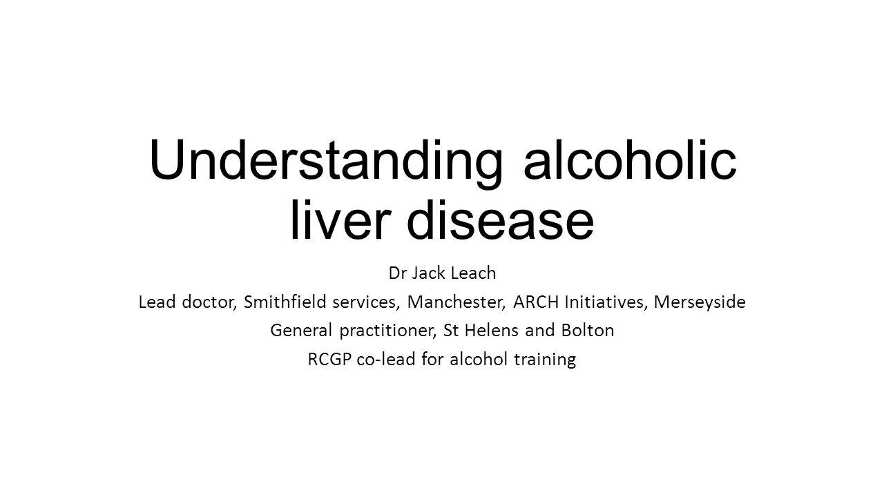 Understanding alcoholic liver disease