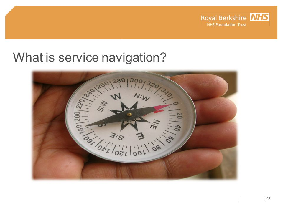 What is service navigation