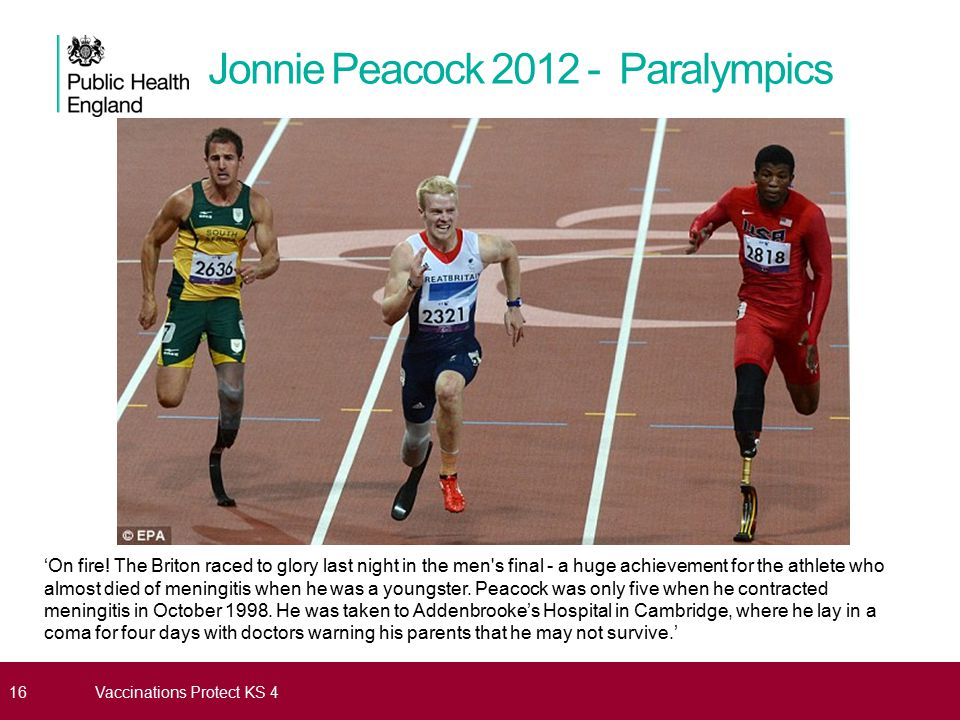 Jonnie Peacock 2012 - Paralympics
