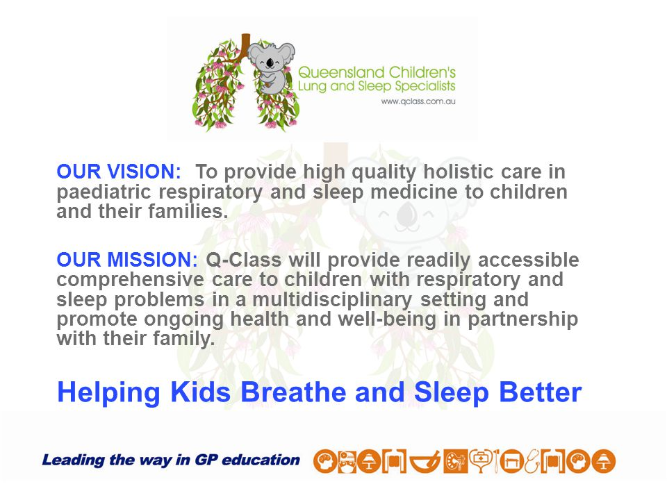 Helping Kids Breathe and Sleep Better