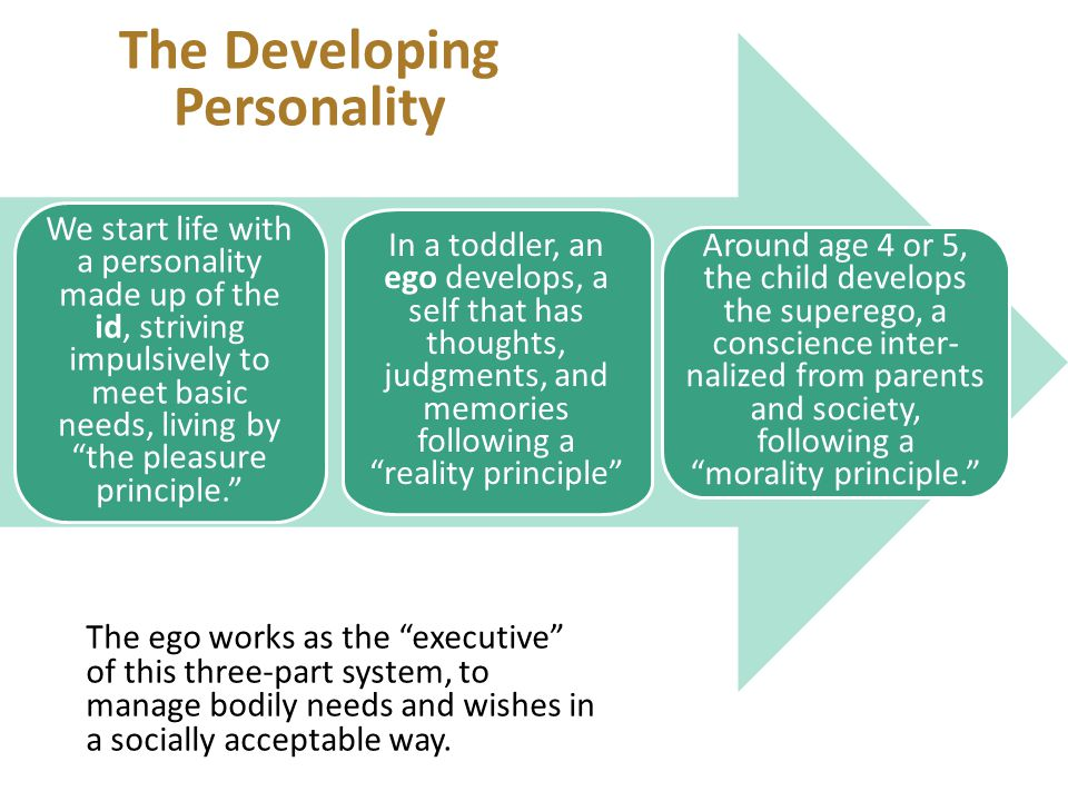 The Developing Personality