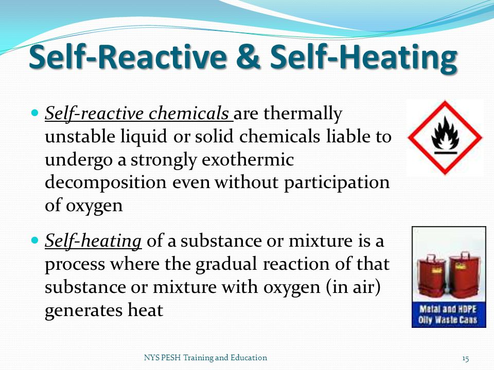 Self-Reactive & Self-Heating