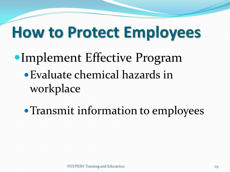 How to Protect Employees