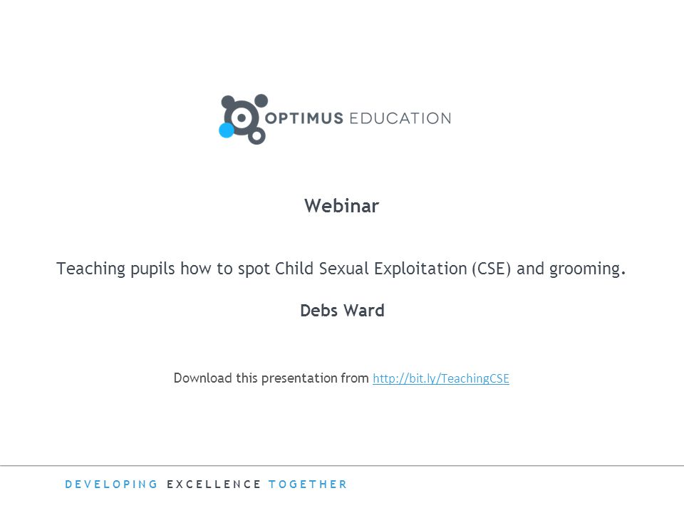 Download this presentation from http://bit.ly/TeachingCSE